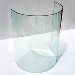 bisote vidro curvo